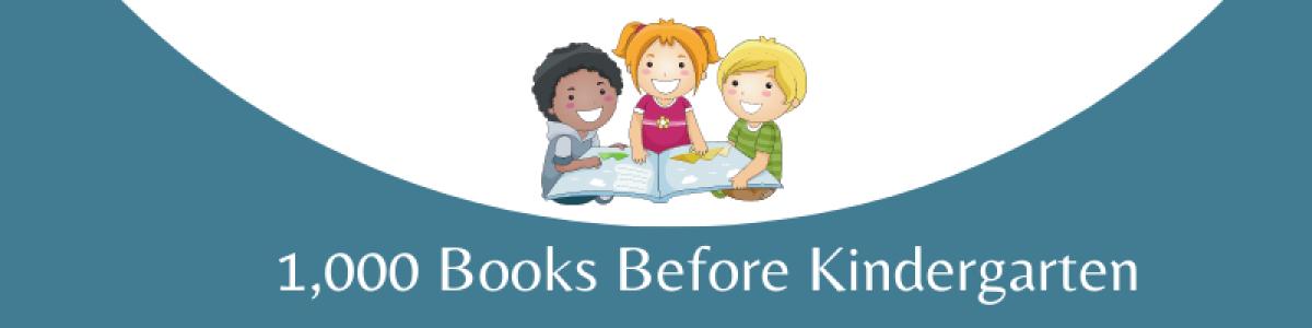 1,000 Books before Kindergarten image